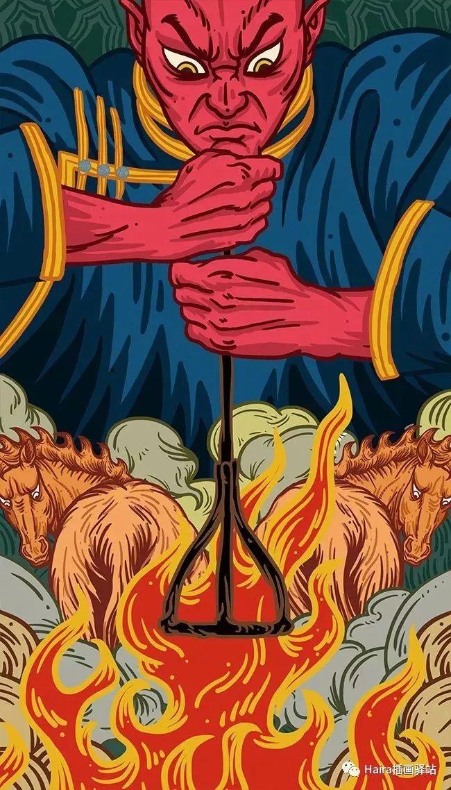 《游牧印迹》蒙古族游牧生活插画设计 第5张