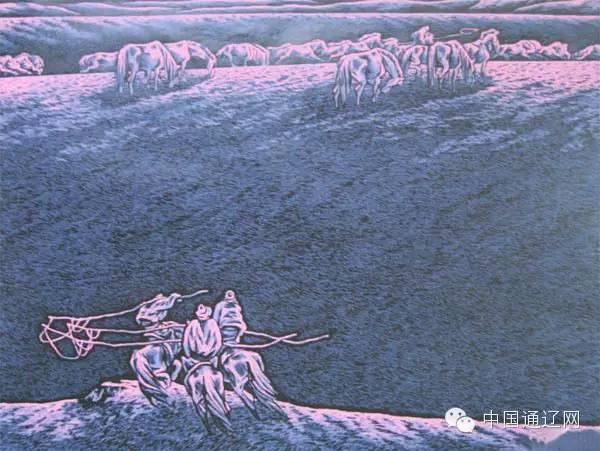 【出彩】科尔沁版画十杰之田宏图 第5张
