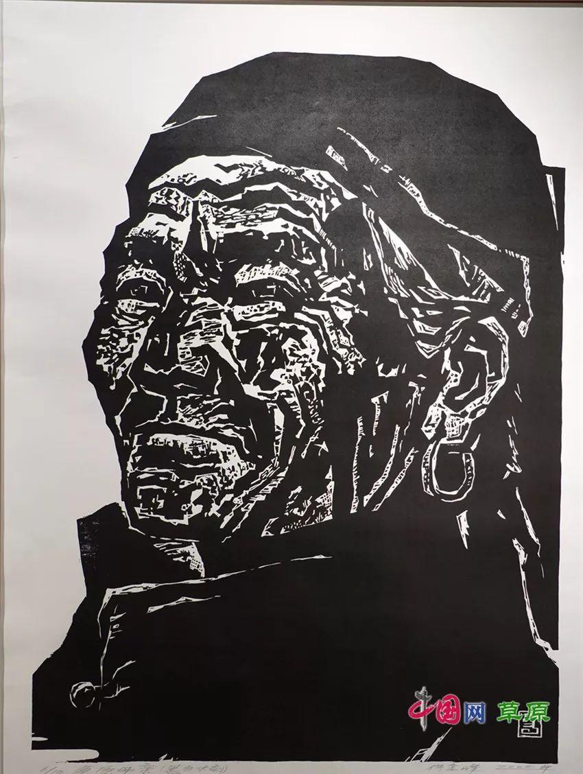 弘扬乌兰牧骑精神 深入生活采风:纸上笔底的科尔沁风情之版画篇(原创组图) 第12张