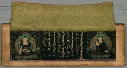 蒙古文经书(貝葉經)手稿 第4张
