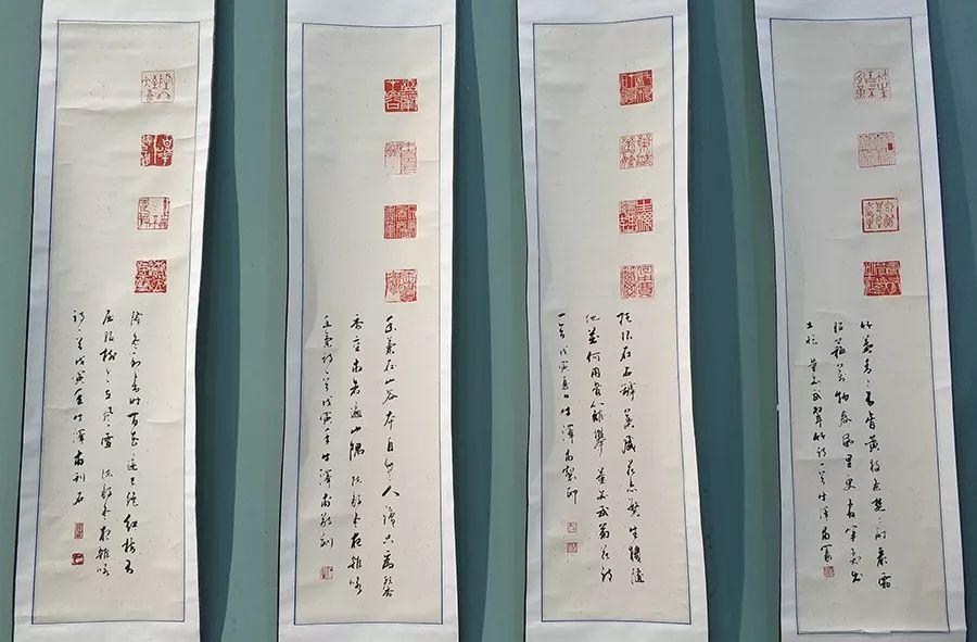 """内蒙古诗书画研究会""""庆祝中华人民共和国成立70周年书画展"""" 第11张"""