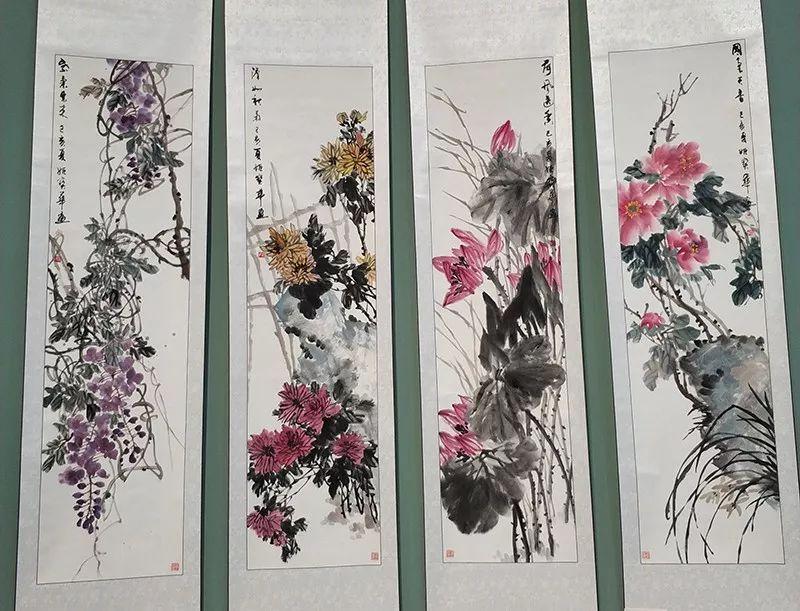 """内蒙古诗书画研究会""""庆祝中华人民共和国成立70周年书画展"""" 第14张"""