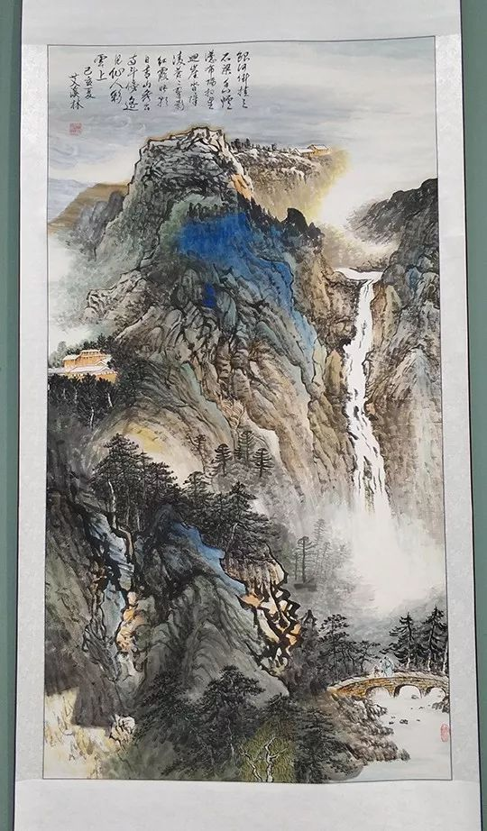 """内蒙古诗书画研究会""""庆祝中华人民共和国成立70周年书画展"""" 第25张"""