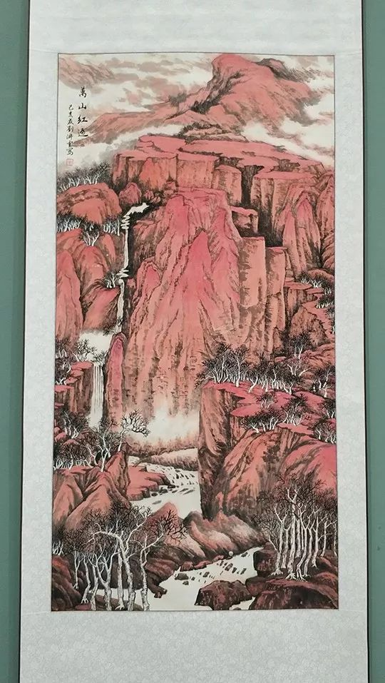 """内蒙古诗书画研究会""""庆祝中华人民共和国成立70周年书画展"""" 第23张"""