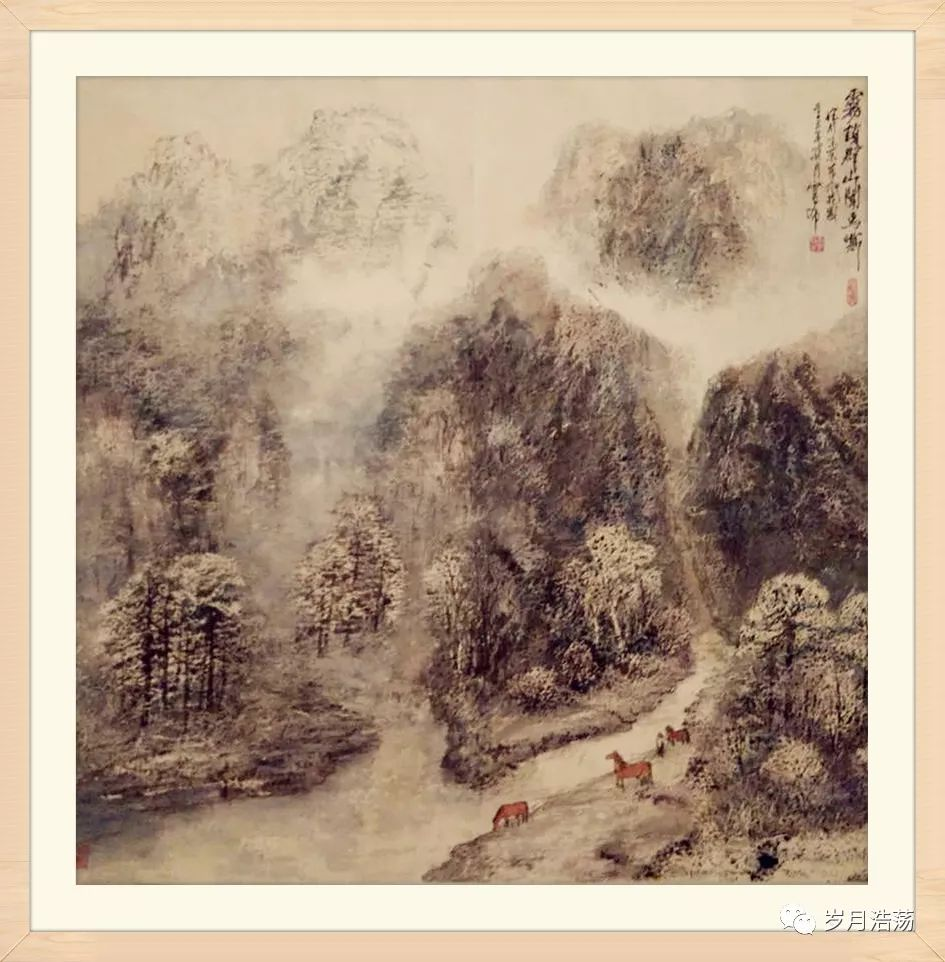 美术画廊|锦绣山河绚丽草原—官布先生画展 第8张