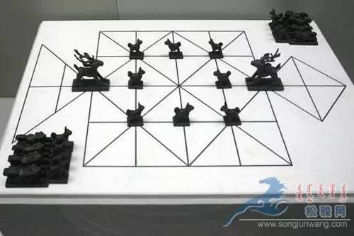 蒙古族传统游戏—鹿棋 第4张