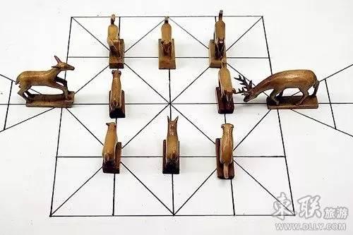 蒙古族传统游戏—鹿棋 第8张