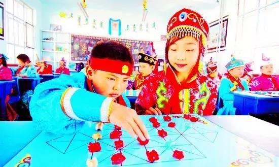 蒙古族传统游戏—鹿棋 第10张