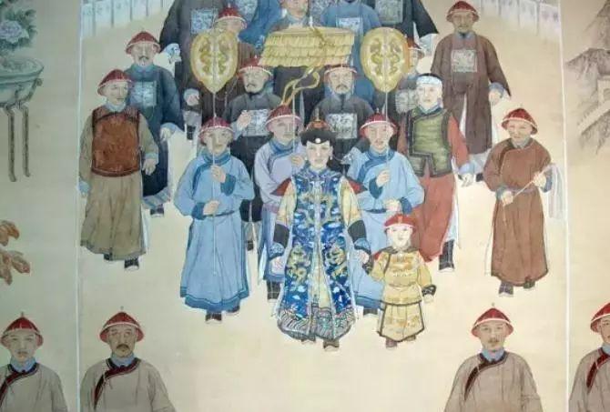 清朝蒙古科尔沁十旗王公..... 第3张 清朝蒙古科尔沁十旗王公..... 蒙古文化