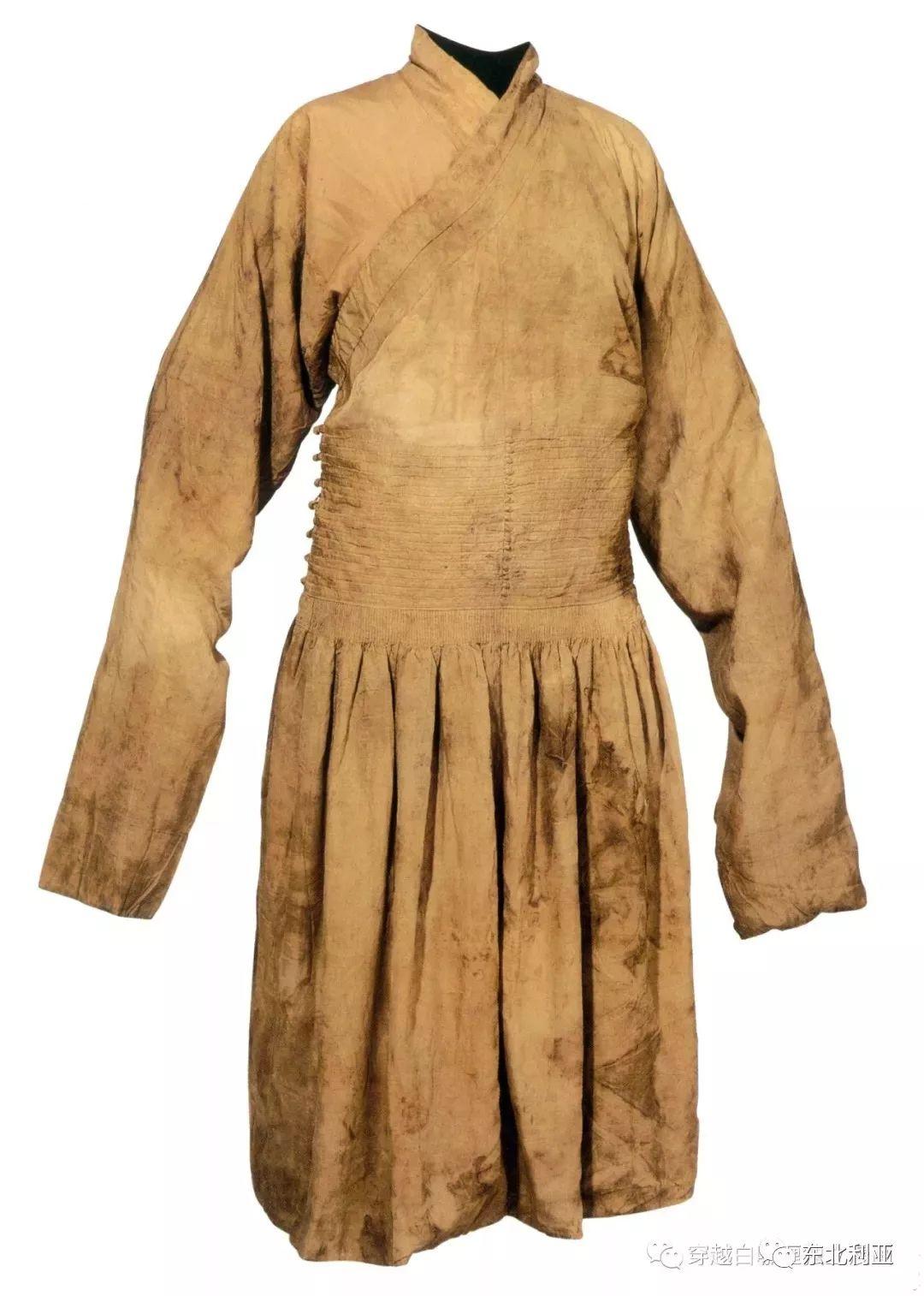 图集丨元代蒙古袍、画作及其复原品 第3张
