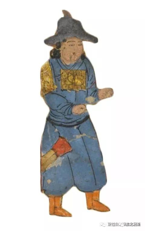 图集丨元代蒙古袍、画作及其复原品 第16张