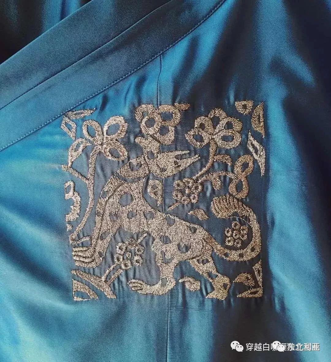 图集丨元代蒙古袍、画作及其复原品 第39张
