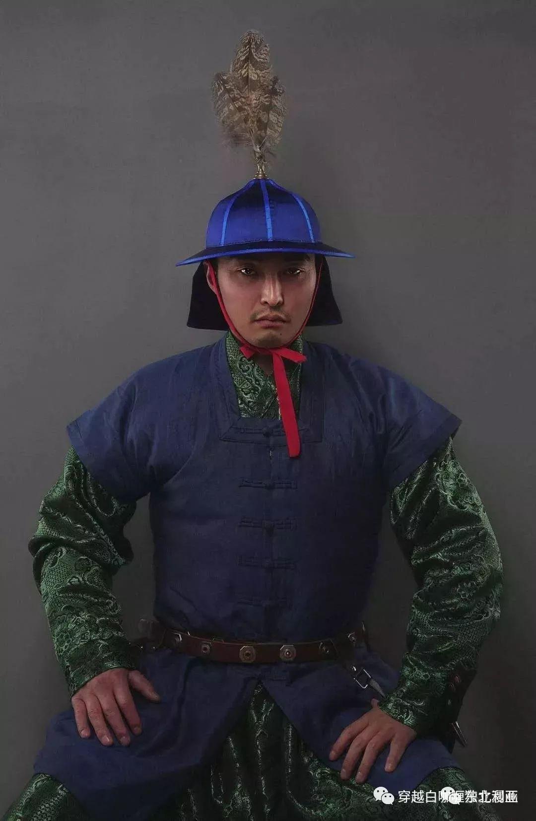 图集丨元代蒙古袍、画作及其复原品 第40张