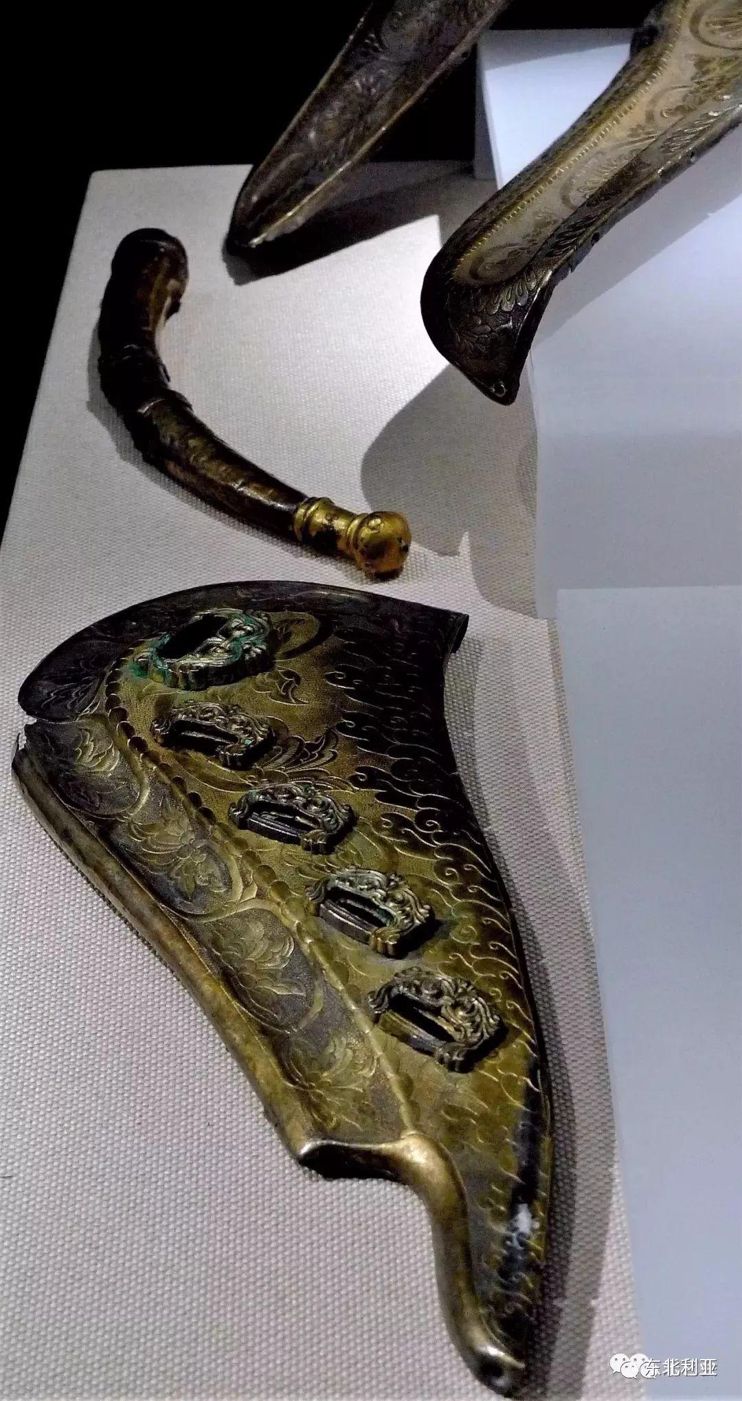 图集丨辽元时期的豪华马鞍与装饰 第5张 图集丨辽元时期的豪华马鞍与装饰 蒙古工艺