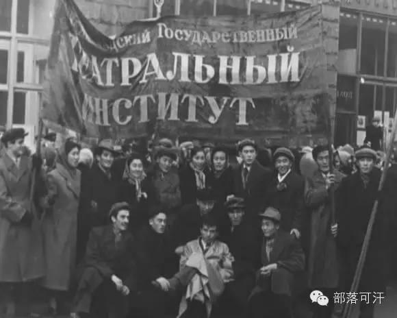 俄罗斯卡尔梅克蒙古怀旧照片 第55张