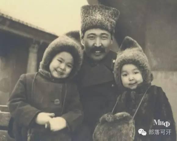 俄罗斯卡尔梅克蒙古怀旧照片 第73张
