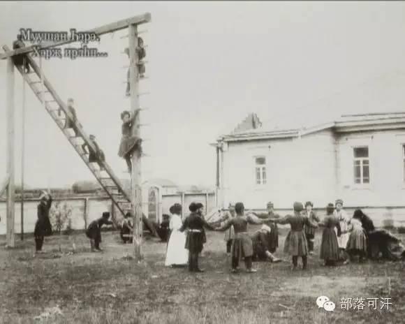 俄罗斯卡尔梅克蒙古怀旧照片 第91张