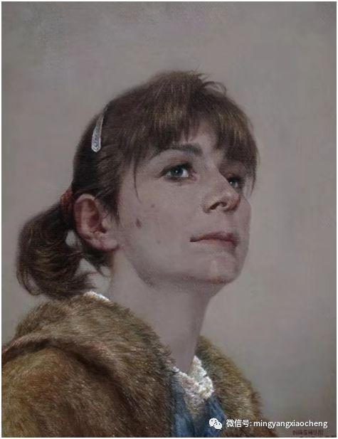 十年---那顺孟和肖像作品展 第6张