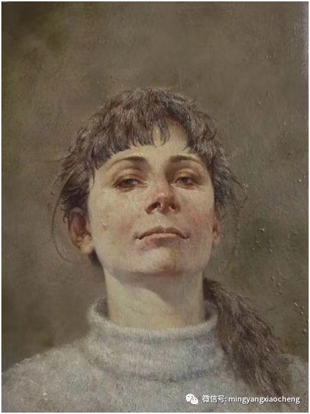 十年---那顺孟和肖像作品展 第4张