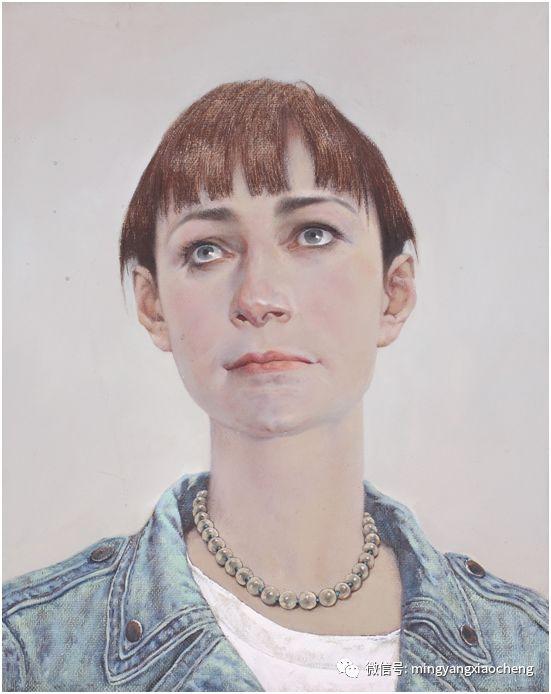 十年---那顺孟和肖像作品展 第16张