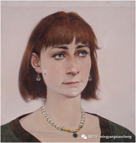 十年---那顺孟和肖像作品展 第18张