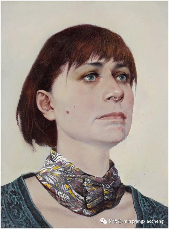 十年---那顺孟和肖像作品展 第17张