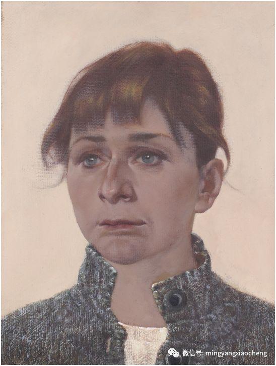 十年---那顺孟和肖像作品展 第23张