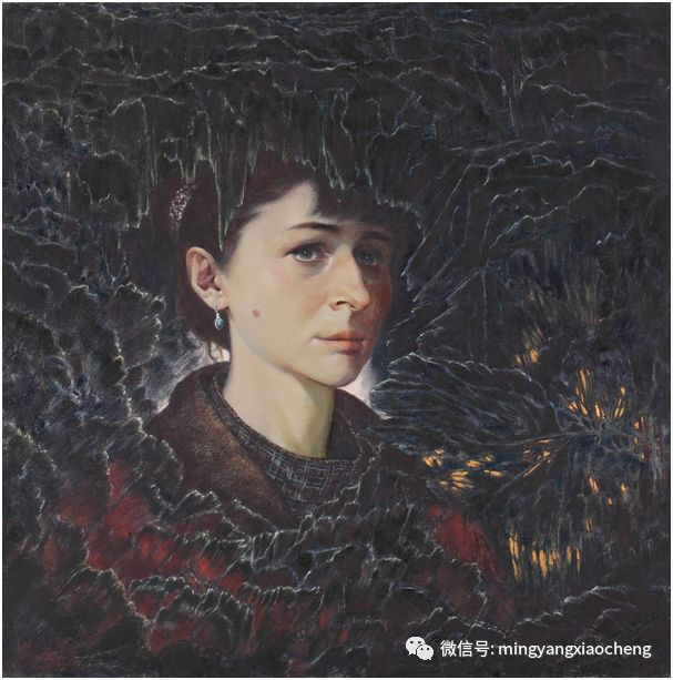 十年---那顺孟和肖像作品展 第31张
