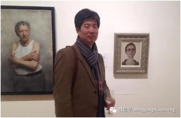 十年---那顺孟和肖像作品展 第32张