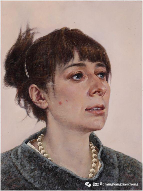 十年---那顺孟和肖像作品展 第30张