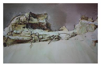 著名蒙古族水彩画家白长青作品欣赏 第6张 著名蒙古族水彩画家白长青作品欣赏 蒙古画廊