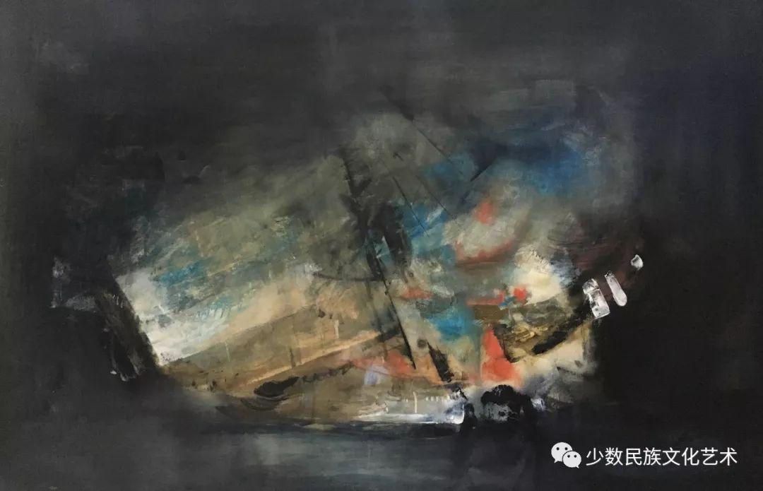 蒙古族青年水彩画家金光作品欣赏 第5张 蒙古族青年水彩画家金光作品欣赏 蒙古画廊