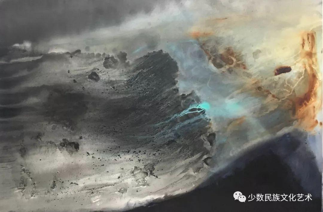 蒙古族青年水彩画家金光作品欣赏 第7张 蒙古族青年水彩画家金光作品欣赏 蒙古画廊