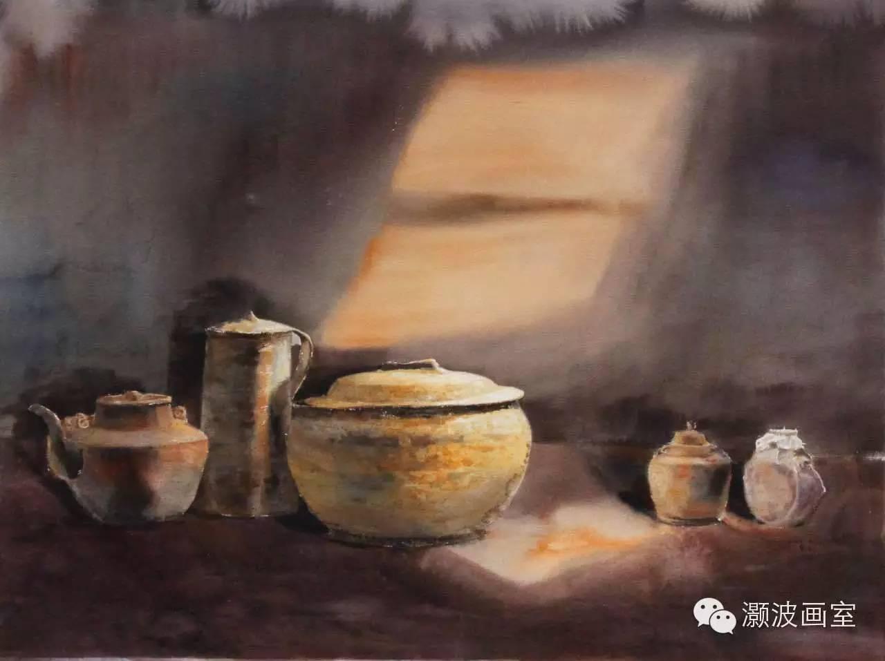 著名蒙古族青年水彩画家宝玉作品欣赏 第2张 著名蒙古族青年水彩画家宝玉作品欣赏 蒙古画廊