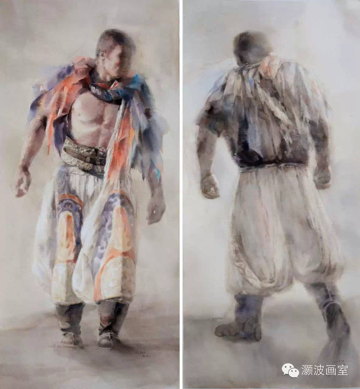 著名蒙古族青年水彩画家宝玉作品欣赏 第3张 著名蒙古族青年水彩画家宝玉作品欣赏 蒙古画廊