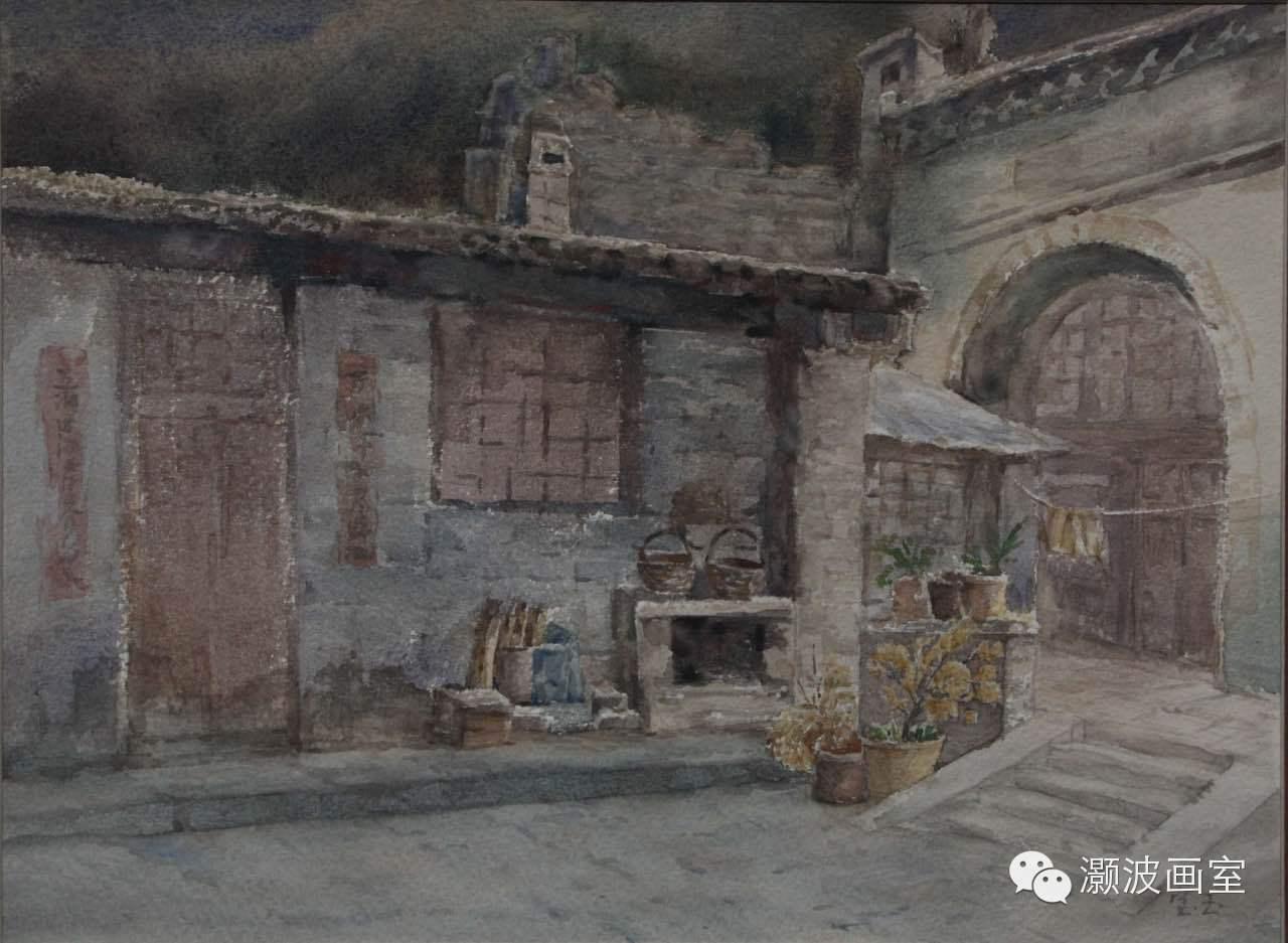 著名蒙古族青年水彩画家宝玉作品欣赏 第9张 著名蒙古族青年水彩画家宝玉作品欣赏 蒙古画廊
