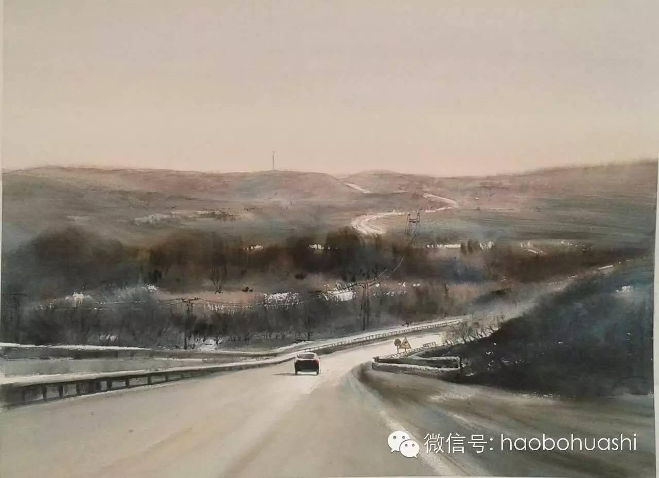 著名蒙古族青年水彩画家宝玉作品欣赏 第17张 著名蒙古族青年水彩画家宝玉作品欣赏 蒙古画廊
