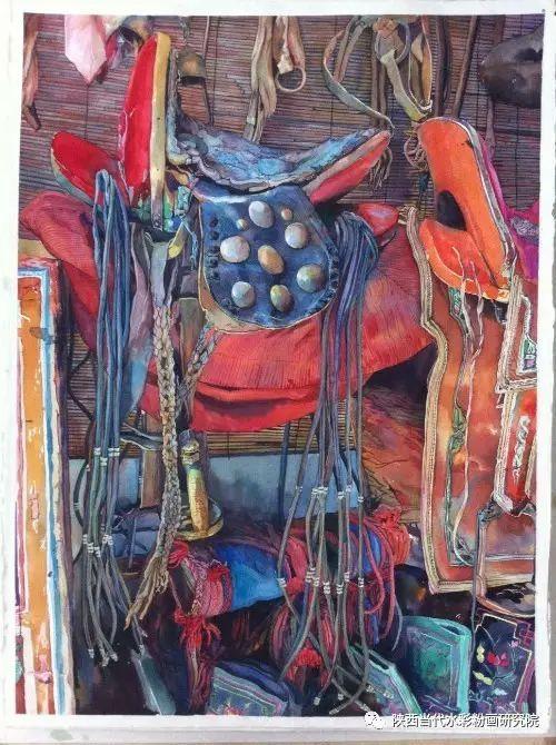 李琪作品 | 内蒙古艺术家水彩画作品专题微展第19集(总第1114期) 第8张 李琪作品 | 内蒙古艺术家水彩画作品专题微展第19集(总第1114期) 蒙古画廊