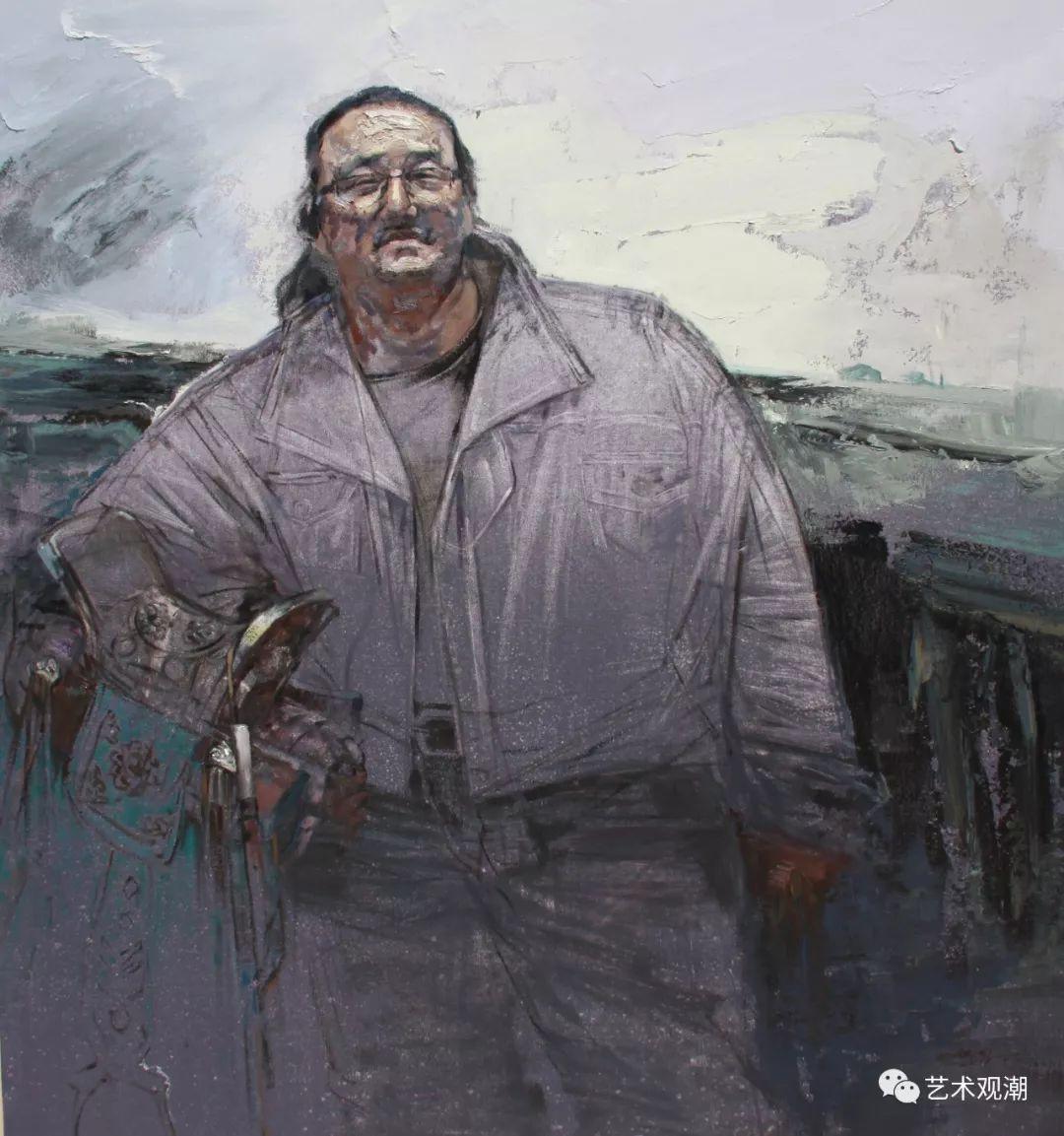 草原情怀——蒙古族青年画家包胡其图 第20张 草原情怀——蒙古族青年画家包胡其图 蒙古画廊