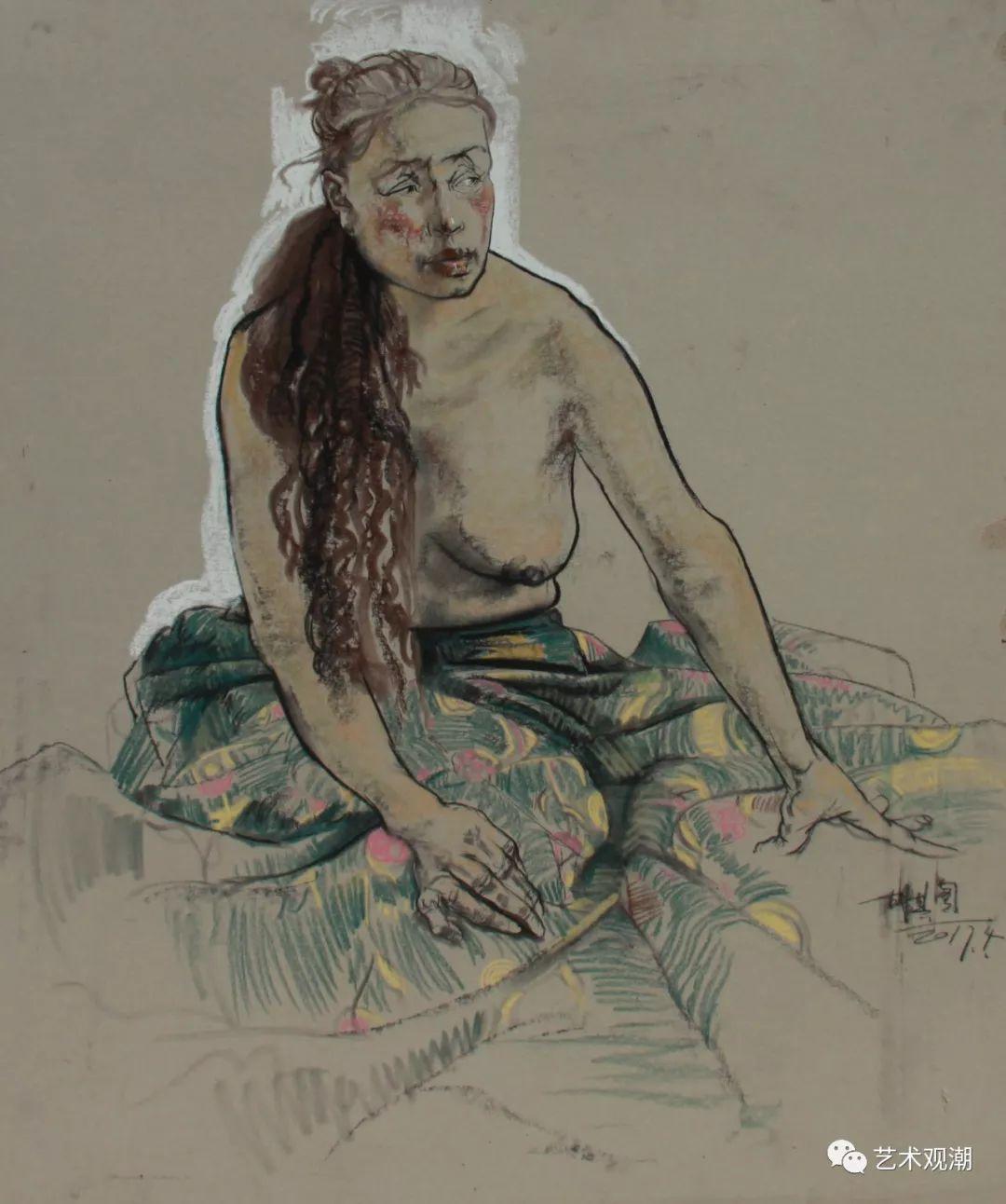 草原情怀——蒙古族青年画家包胡其图 第31张 草原情怀——蒙古族青年画家包胡其图 蒙古画廊