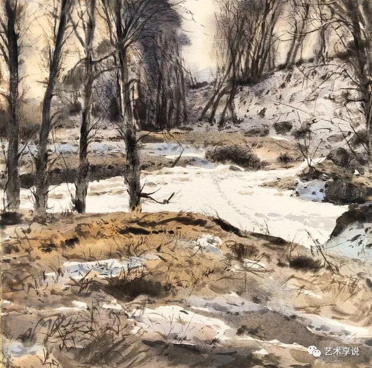 寄性于山水之间 | 塞南水彩 第2张 寄性于山水之间 | 塞南水彩 蒙古画廊