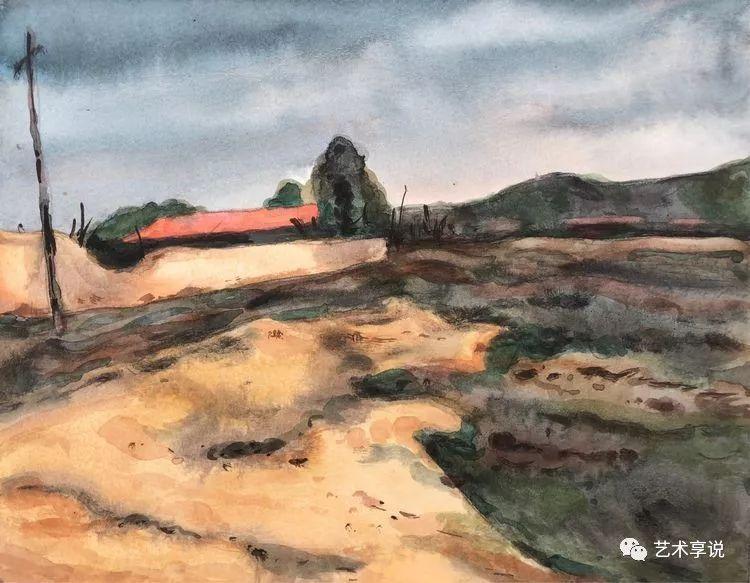 寄性于山水之间 | 塞南水彩 第13张 寄性于山水之间 | 塞南水彩 蒙古画廊