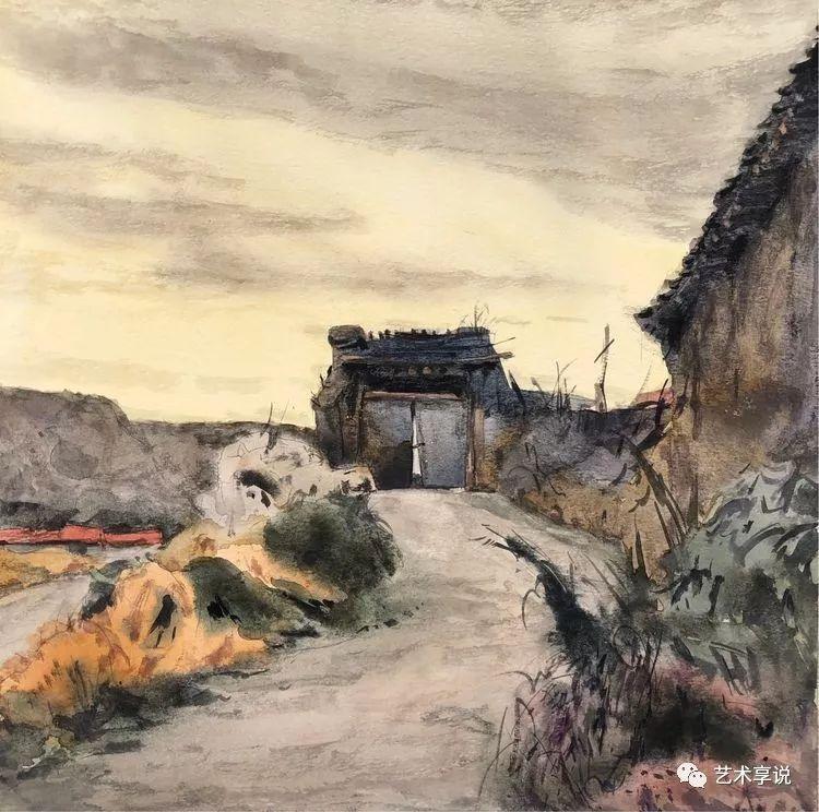 寄性于山水之间 | 塞南水彩 第19张 寄性于山水之间 | 塞南水彩 蒙古画廊
