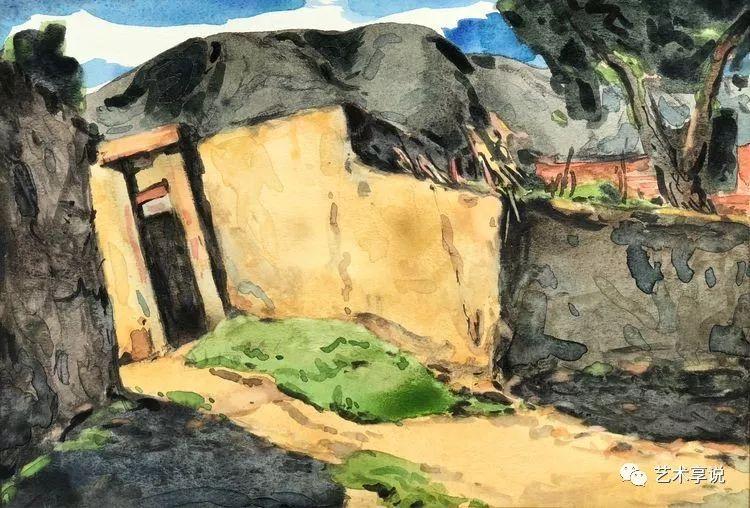 寄性于山水之间 | 塞南水彩 第22张 寄性于山水之间 | 塞南水彩 蒙古画廊