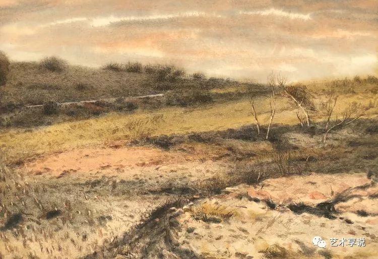 寄性于山水之间 | 塞南水彩 第32张 寄性于山水之间 | 塞南水彩 蒙古画廊