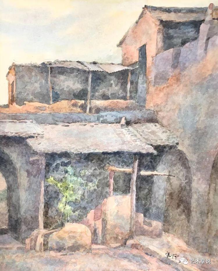 寄性于山水之间 | 塞南水彩 第54张 寄性于山水之间 | 塞南水彩 蒙古画廊