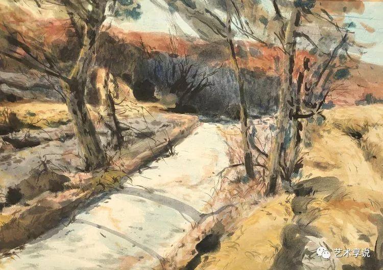 寄性于山水之间 | 塞南水彩 第66张 寄性于山水之间 | 塞南水彩 蒙古画廊