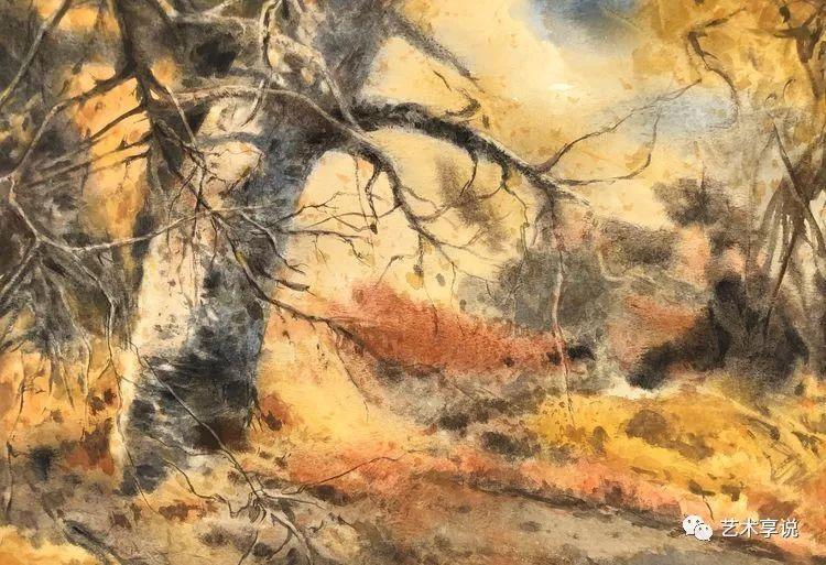 寄性于山水之间 | 塞南水彩 第67张 寄性于山水之间 | 塞南水彩 蒙古画廊