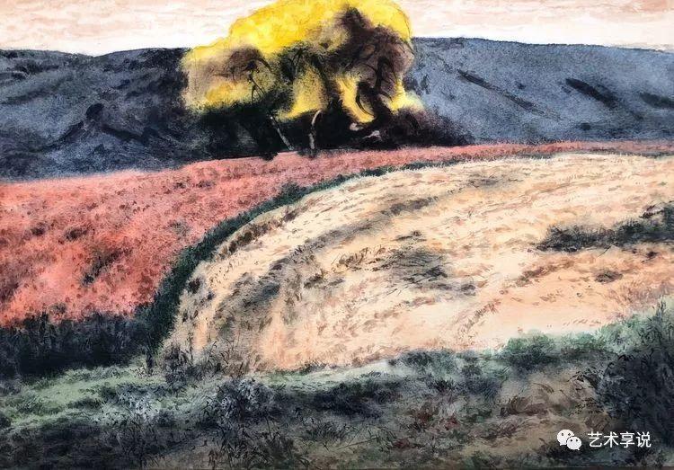 寄性于山水之间 | 塞南水彩 第70张 寄性于山水之间 | 塞南水彩 蒙古画廊