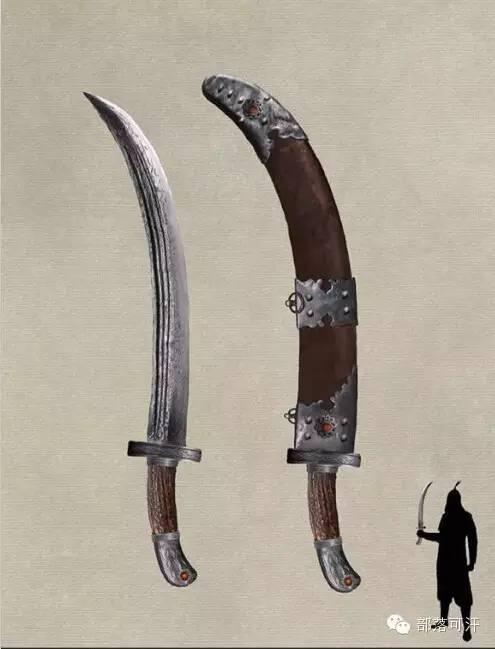 【蒙古战刀】设计师还原古代蒙古战刀兵器图集 第2张 【蒙古战刀】设计师还原古代蒙古战刀兵器图集 蒙古工艺